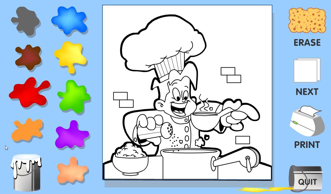 Juegos De Colorear Frozen En Linea Biblioteca De: Recurso Educativo 43513 - Tiching