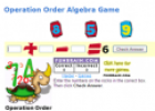 Game: Operation order algebra | Recurso educativo 52345