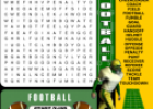 Football word search | Recurso educativo 58009