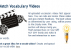 Website: Vocabulary videos | Recurso educativo 60195