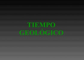 Eras Geológicas | Recurso educativo 92717