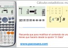 Calculadoras CASIO: ca?lculos con matrices | Recurso educativo 119312