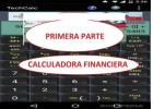 USO CALCULADORA.PRIMERA PARTE: FINANCIERA. | Recurso educativo 730624