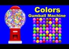 Colors for Children to Learn with Gumball Machine - Colours for Kids to Learn | Recurso educativo 730647