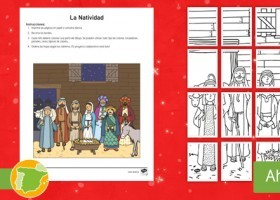 * NEW * Arte colaborativo: La Natividad | Recurso educativo 778324